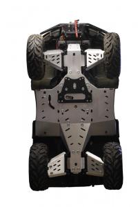 Skid plate full set (aluminium) Arctic Cat TRV 500 / 550 / 700