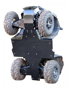 Skid plate full set (plastic) Dinli DL 703
