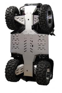 Skid plate full set (aluminium) CFORCE 800 ( X8 )
