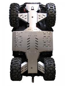 Skid plate full set (aluminium) CFORCE 800 LUX ( X8 LUX )