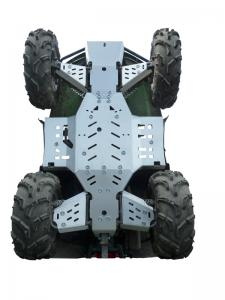 Skid plate full set (aluminium) Arctic Cat 500 / 550 / 700
