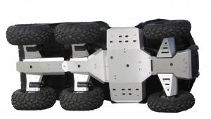 Skid plate full set (aluminium) Polaris Big Boss 800