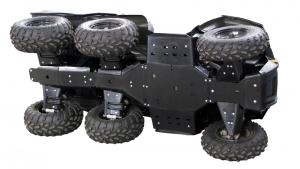Skid plate full set (plastic) Polaris Big Boss 800
