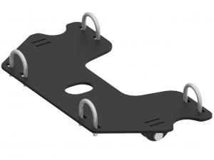 Mid-mount adapter Yamaha Grizzly / Kodiak