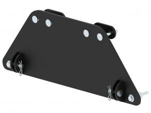 Mid-mount adapter Segway Snarler