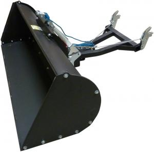 Plow bucket 1280 mm with mechanical tilt
