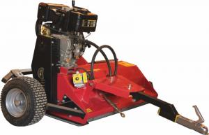 Flail mower DIESEL  with electric starter with heavy duty clutch