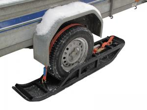 Trailer skis ( 1 axle trailer )