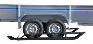Trailer skis ( 2 axle trailer )