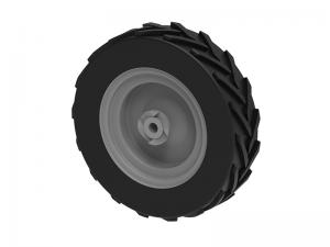 Right wheel ( Sand spreader G2-500 PRO ), set