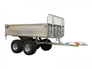 Trailer ECO 1500; (electo-hydraulic lifting)
