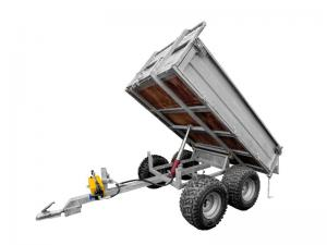 Manual-hydraulic lift kit for ECO 1500 trailer cargo box