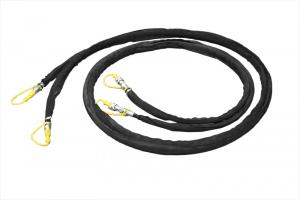 Hydraulic hose extensions