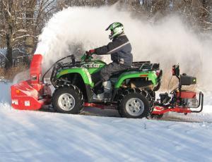 Quadivator snow blower (1-seat) (Briggs&Stratton 19hp)