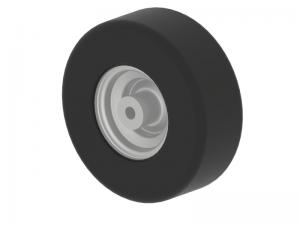 Wheel BLANKO 11x4.00-5/4 P607 TL  ( Sweeper collector )