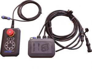 Remote control set with wiring and relays for IB snow blower